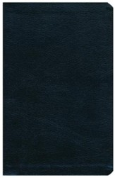 KJV Thinline Bible--bonded leather, black