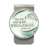 Wings As Eagles, Money Clip, Isaiah 40:31