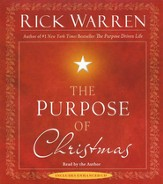 Purpose of Christmas, Audiobook CD