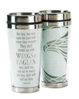 Wings As Eagles, Travel Mug, Isaiah 40:31