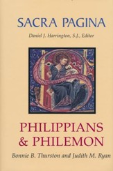 Philippians & Philemon: Sacra Pagina [SP] (Hardcover)