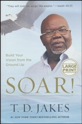 Soar! Build Your Vision from the Ground Up, Large Print
