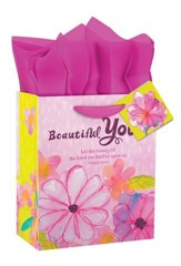 Beautiful You, Birthday Gift Bag, Small
