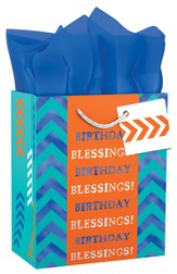 Birthday Blessings Gift Bag, Small