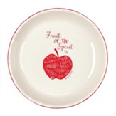 Fruit Of The Spirit, Stoneware Pie Plate, Galatians 5:22, 23