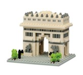 Nanoblock Sights To See, Arc De Triomphe