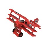 Nanoblock Advanced Hobby, The Baron Tri-Plane