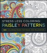Stress Less Coloring - Paisley Patterns - Slightly Imperfect