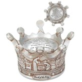 Birth Of The King Crown Musical Figurine