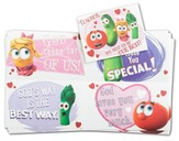 VeggieTales Children's Valentine Cards, Box of 24
