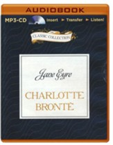 Jane Eyre - unabridged audiobook on MP3-CD