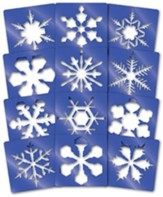 Super Snowflake Stencils (Package of 12)