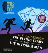 The Flying Stars and The Invisible Man - unabridged audiobook on MP3-CD