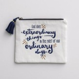 God Does Extraordinary Things, Cosmetic Bag