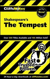 CliffsNotes on Shakespeare's The  Tempest
