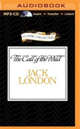 The Call of the Wild - unabridged audiobook on MP3-CD