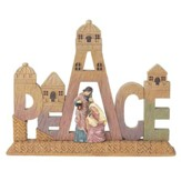 Peace, Holy Family Tabletop Figurine