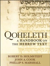 Qoheleth: A Handbook on the Hebrew Text