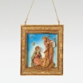Holy Family Frame Ornament