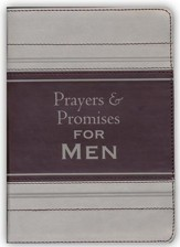 Prayers & Promises for Men--imitation leather
