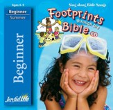 Footprints through the Bible Beginner (ages 4 & 5) Audio CD