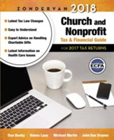 Zondervan 2018 Church and Nonprofit Tax & Financial Guide