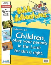 Bible Adventures Primary (Grades 1-2) Memory Verse  Visuals