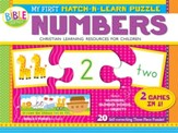 My First Match-N-Learn Puzzle: Numbers