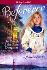 The Puzzle of the Paper Daughter: A Julie Mystery, repackaged