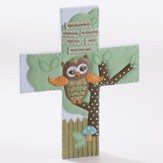 May Blessings Guide You As You Grow, Owl, Wall Cross
