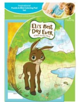 Eli's Best Day Ever Puzzle and Coloring Pad