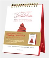 Because of Bethlehem Tabletop Advent Devotional