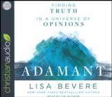 Adamant: Finding Truth in a Universe of Opinions - unabridged audiobook on CD