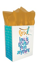 Love Is Greater Than Anything Gift Bag, Medium