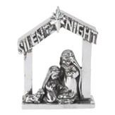 Silent Night Nativity Figurine