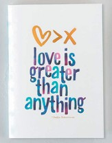 Fearless, Love Is Greater Than Anything Notebooks, Pack of 2