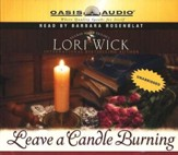 Leave a Candle Burning - audiobook on CD