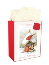Christmas Blessings, Gift Bag , Large