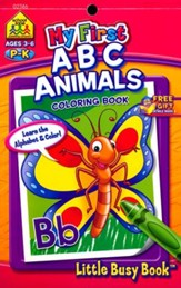 My First ABC Animals Grades PreK-K