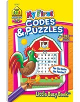 My First Codes & Puzzles Grades 1-2