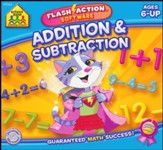 Flash Action Software: Addition & Subtraction CD-ROM