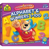 Flash Action Software: Alphabet & Numbers 1-100 CD-ROM