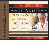 Mastering The Seven Decisions That Determine Personal Success Audiobook on CD