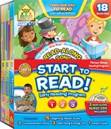 Start to Read, Levels 1-3 (18-Pack with CD-ROMs)