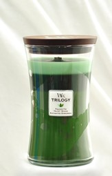 Trilogy Candle, Forest Walk, Large