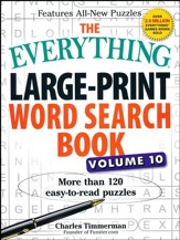 The Everything Large-Print Word Search Book, Volume 10