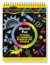 Scratch Art Sketch Pad