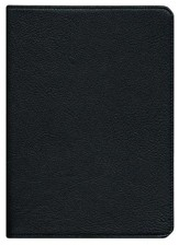 NIV Clarion Reference Bible, Goatskin, black