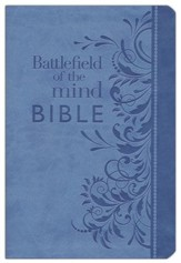 Battlefield Of The Mind Bible, Imitation leather, blue