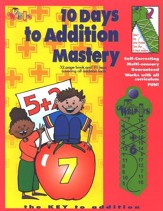 10 Days to Addition Mastery: Workbook with Wrap-ups & CD
